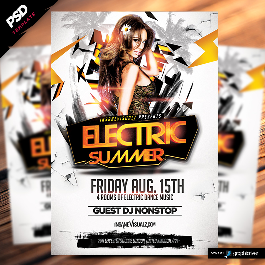 Electric Summer Flyer