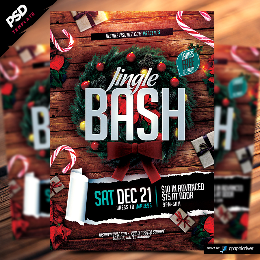 Jingle Bash Xmas Flyer