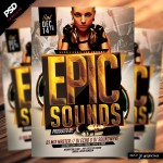 Epic Sounds Flyer