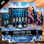 Party Hardy Winter Flyer