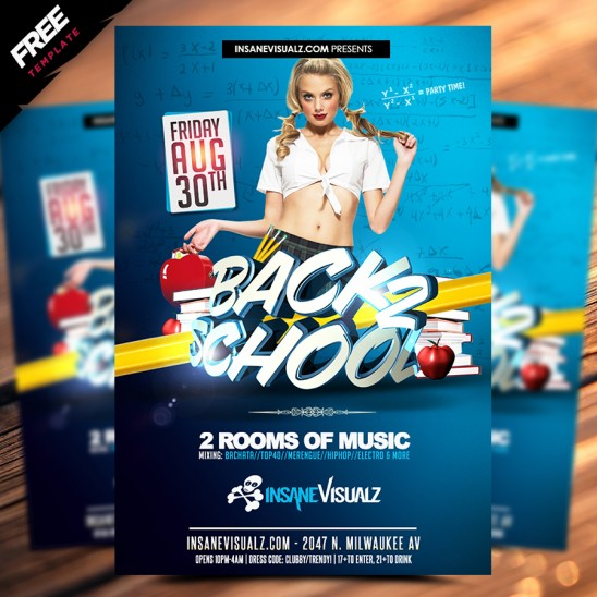 Back to School Free Flyer