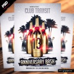 Club Anniversary Flyer