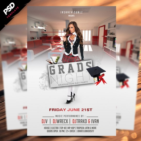 Grads Night Flyer