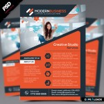 Modern Business Flyer PSD