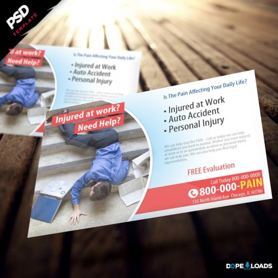 Pain Business Flyer Download