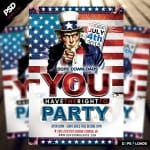 4 of July Flyer Template