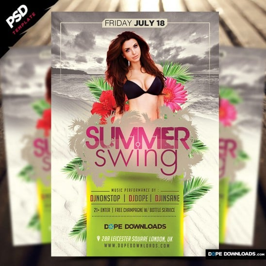Summer Swing Flyer
