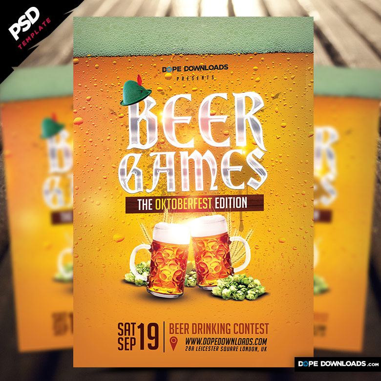 Beer Games Oktoberfest Edition