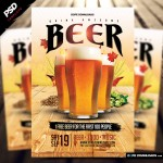 Drink Awesome Beer Flyer