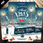 Merry Xmas Party 2015 Flyer