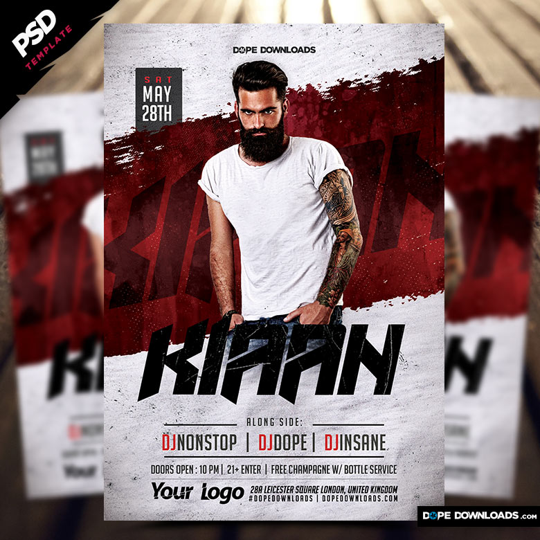 Nightclub Dj Flyer Template