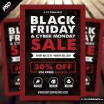 "<span itemprop=""name"">Black Friday Sale Flyer Template</span>"