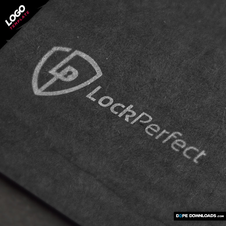 Lock Perfect Logo Template