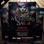 "<span itemprop=""name"">Monsters Ball Halloween Flyer Template</span>"